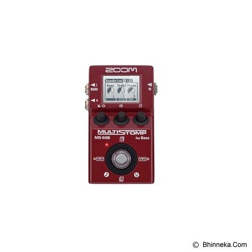 ZOOM Guitar Multi-Effects Pedal [MS-60B] - Gitar Stompbox Effect